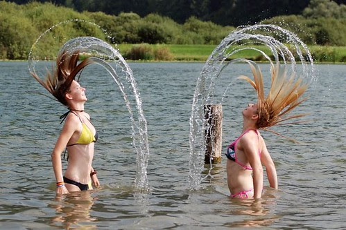 Water hair 1
