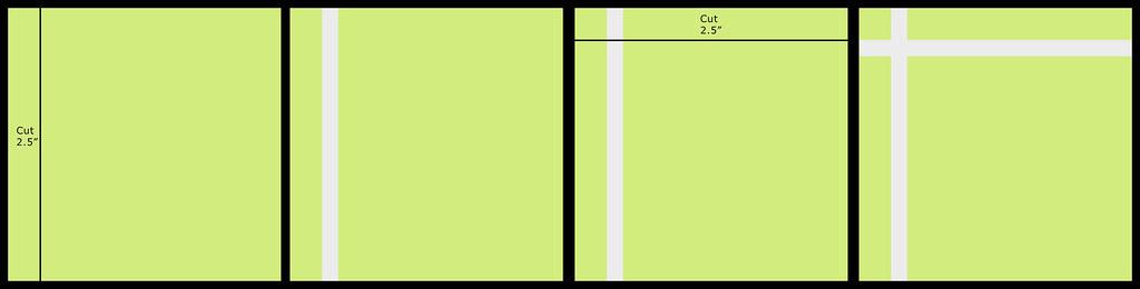 crossing quilt 1-4