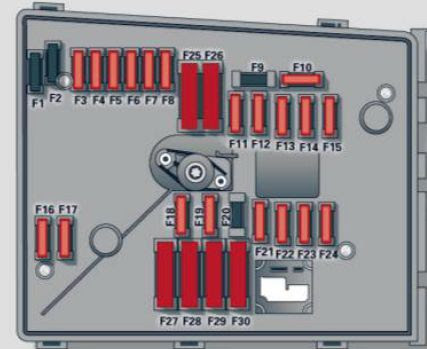 Audi A3 2012 Fuse Box Diagram Auto Genius