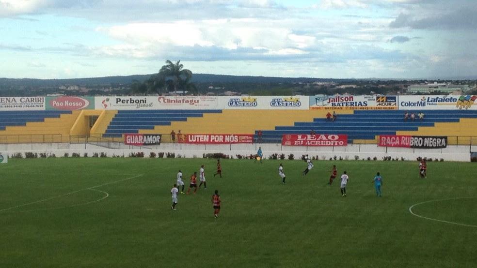 Guarani de Juazeiro, Globo-RN, Romeirão (Foto: Fabiano Rodrigues/TV Verdes Mares)