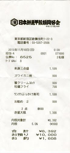 日本鮮魚甲殼類同好會23