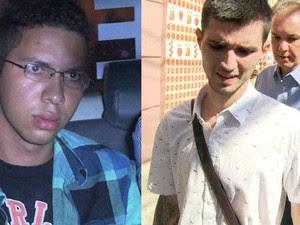 Fábio Raposo e Caio Silva (Foto: Reprodução GloboNews)