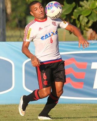 Anderson Pico, treino Flamengo (Foto: Gilvan de Souza / Flamengo)