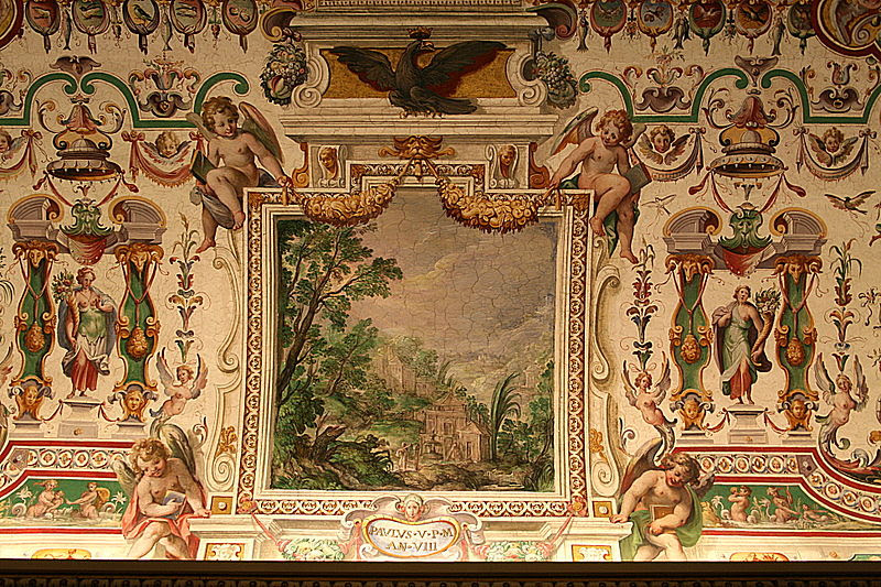 File:0 Plafond Sale Sistine - Salle des Archives pontificales (2).JPG