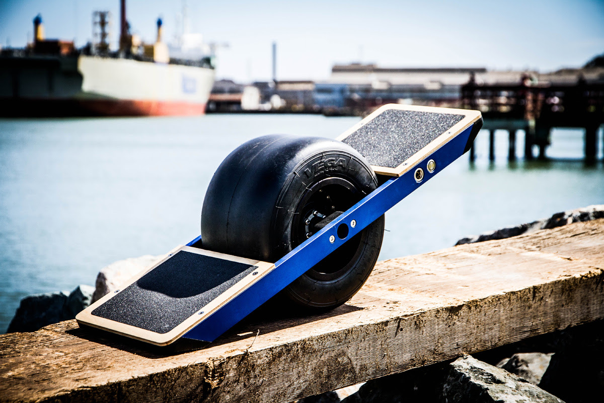 Shredding Around Town On The Onewheel SelfBalancing Electric Skateboard