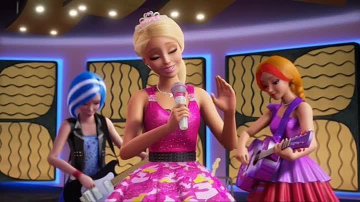 ausmalbilder barbie prinzessin im rockstar camp