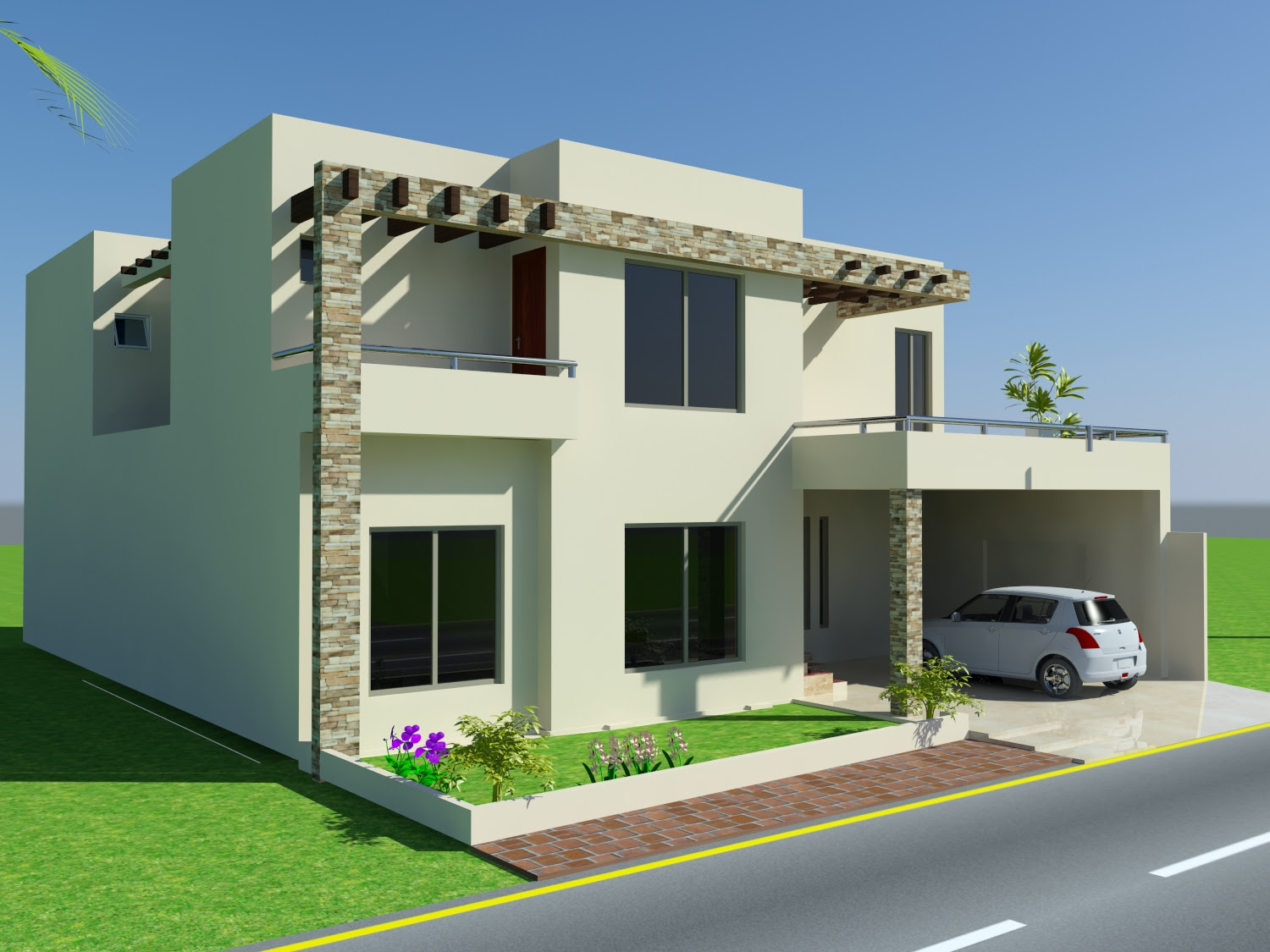 4 marla house front design  Home design and style