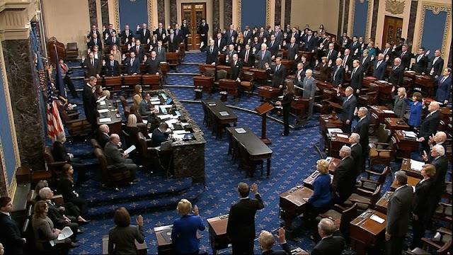 Trump's Impeachment: Chief Justice, Senators Sworn In