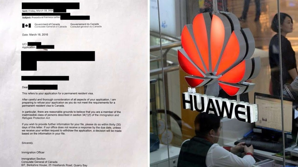 Image result for Once branded spies, Chinese tech trio settles in Canada after immigration officials back down