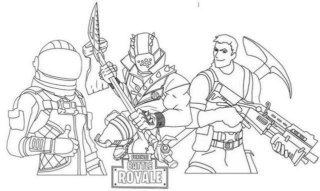 16 Free Printable Fortnite Coloring Pages - 1NZA | 383x640