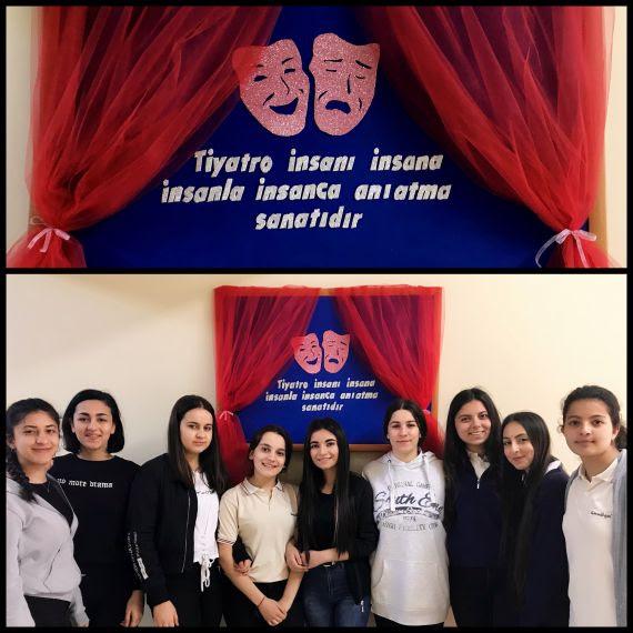 27 Mart Dünya Tiyatrolar Günü Panosu Eğitim Bilişim Ağı