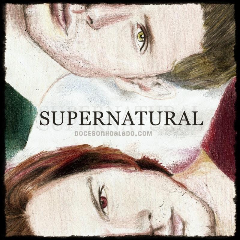 Homenagem de Quinta Sobrenatural Supernatural Jared Padalecki Jensen Ackles desenho