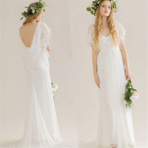 Plus size hippie wedding dresses   PlusLook.eu Collection