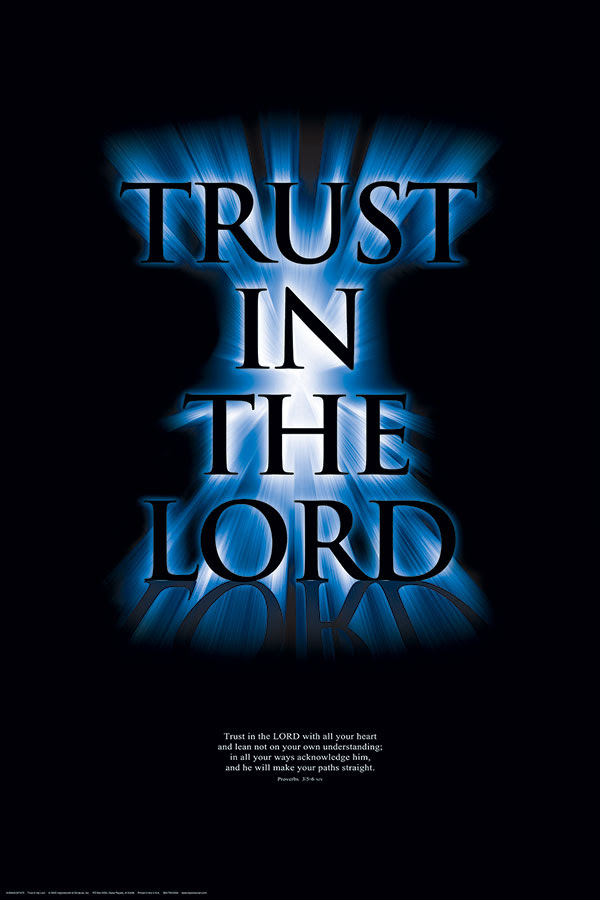 Trust In The Lord Inspiration Art