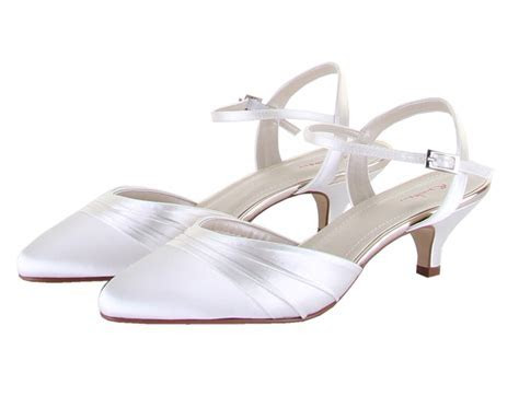 Rainbow Club Julie Wide Fit Bridal Shoes   Perdita's