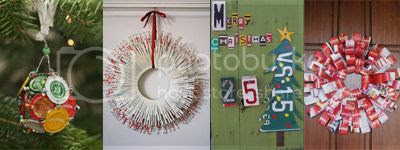 cheap and easy recycled DIY for christmas