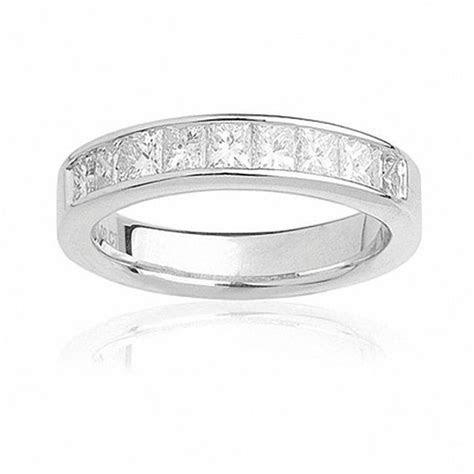 Ladies' 1 CT. T.W. Princess Cut Diamond Wedding Band in