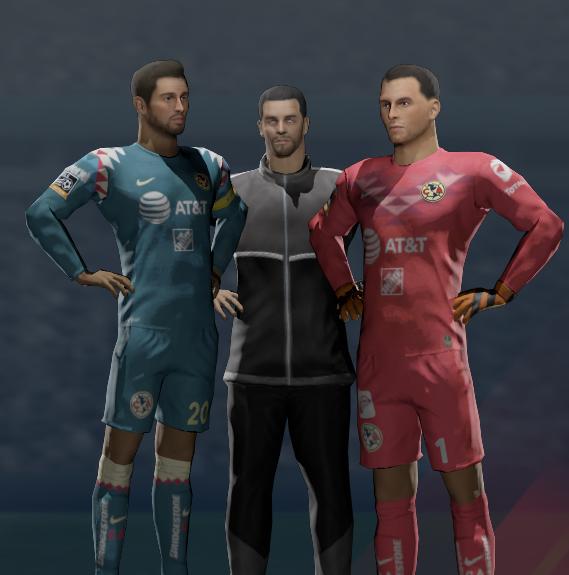 Club America 2019/20 Kits for Dream League Soccer 2020 DLS20 - Nachos MX OFFICIAL DLS