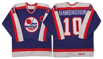 Winnipeg Jets 84-85 road jersey