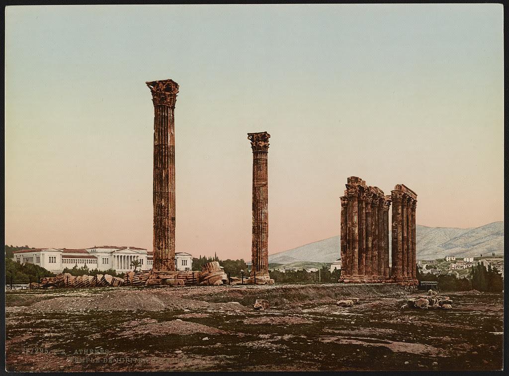 Αθήνα. Στύλοι του Ολυμπείου Διός