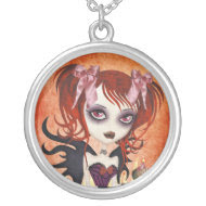 Fallen Angel Sterling Silver Necklace necklace