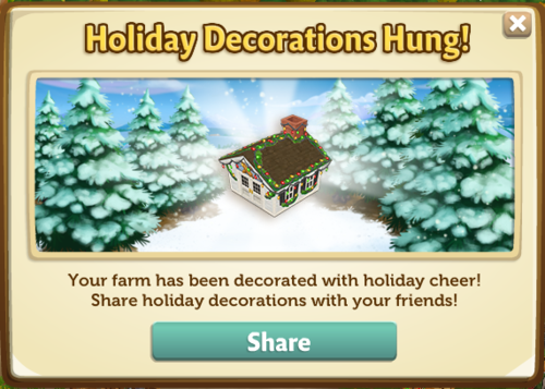 The Holiday Book - Stage 1 - FarmVille 2
