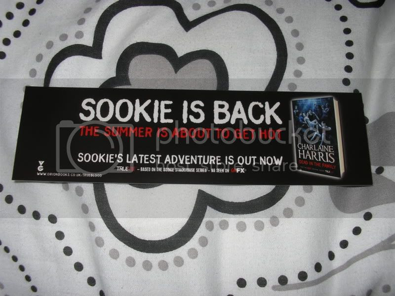 sookie stackhouse bookmark