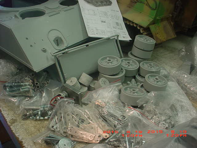 The Field of Armor Dragon 1 6 R C Sherman just arrived RCU Forums