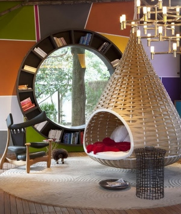 Amazing Interior Design Hanging Chairs - Swing & Relax Yourself!