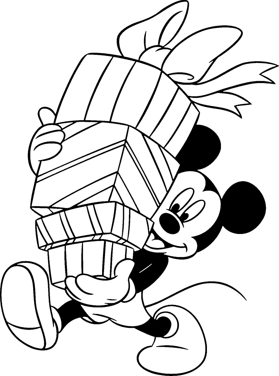 Free Disney Christmas Printable Coloring Pages for Kids ...