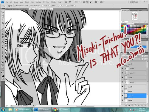 work in progress 2012.10.21 - crystal shadows - erin and misaki???