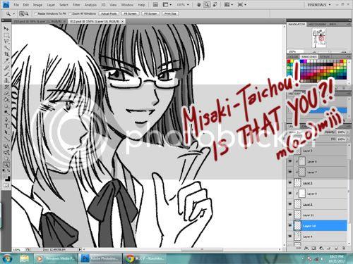 work in progress 2012.10.21 - crystal shadows - erin and misaki???