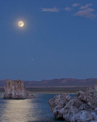 Imagen del Lago Mono, en California.  HENRY BORTMAN.