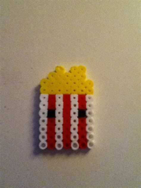 Perler Bead Popcorn by Yinlizzy on DeviantArt