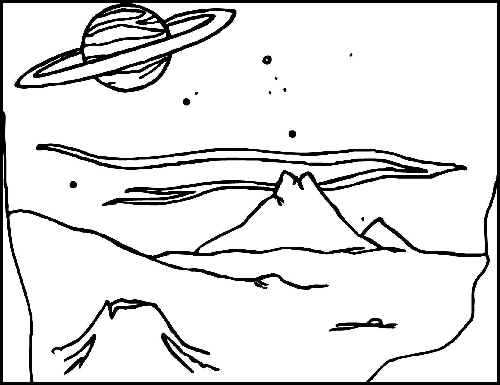 - Alien Landscape Coloring Page Wecoloringpage.com - Coloring Pages