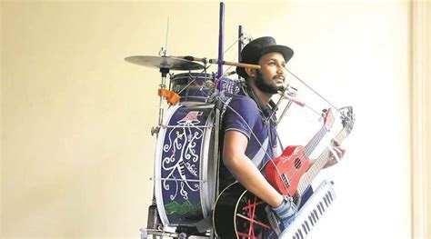 This one man band has music in every finger   The Indian