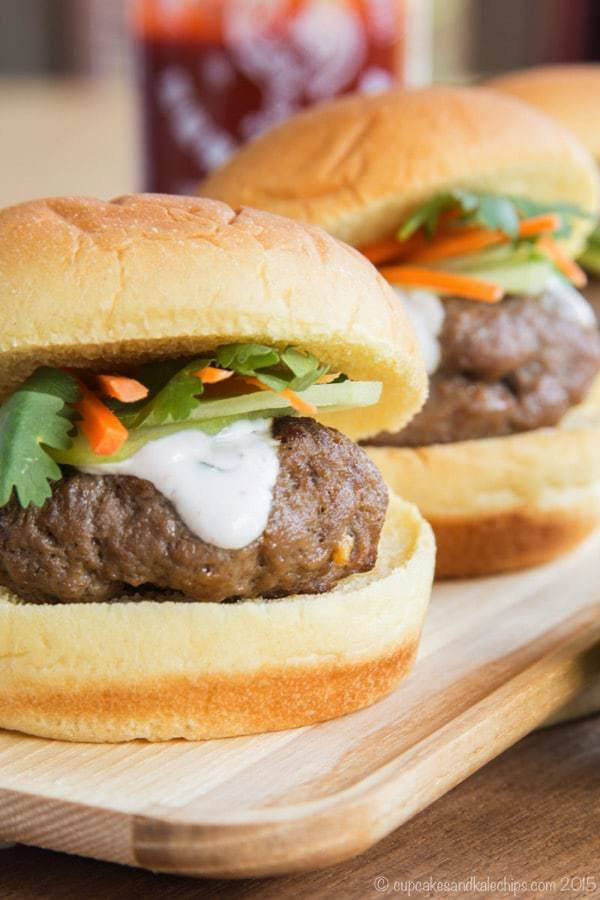 Thai Style Sliders | Cupcakes & Kale Chips