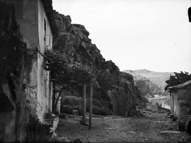 Parador del Macho en los años 20. Fotografía de Otto Wünderlich. © Fototeca del Patrimonio Histórico