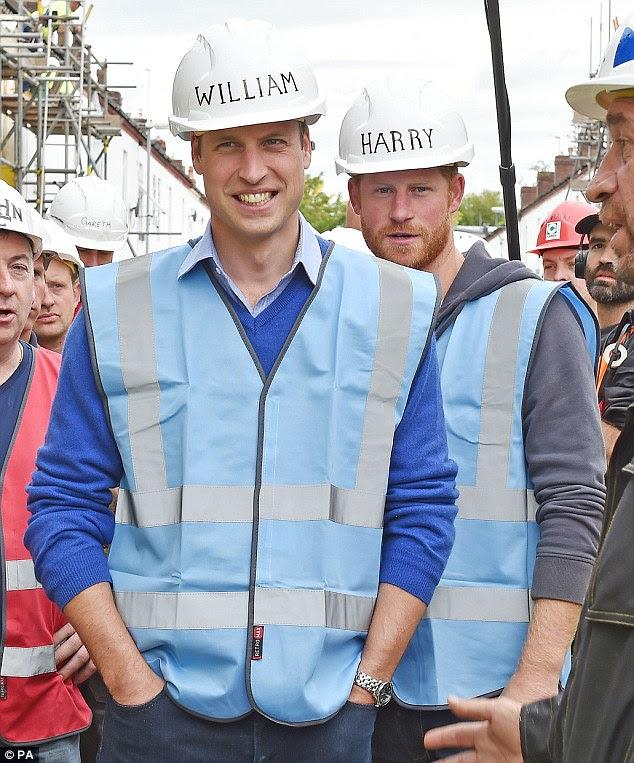 Aktualizacja: Wizyty księcia Williama i Harry'ego.