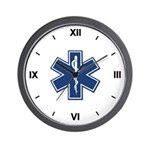 EMT Rescue Wall Clock