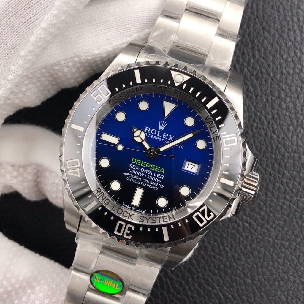 Replica Rolex Sea-Dweller D-Blue 116660