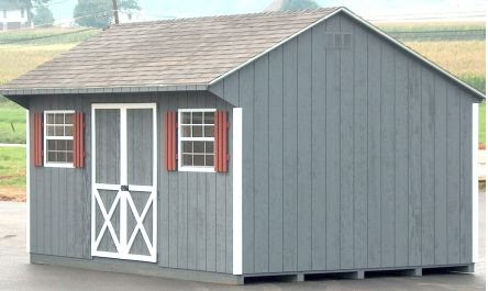 12 x 16 Shed Plans