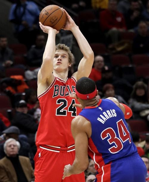 Lauri Markkanen bate recorde no Chicago Bulls