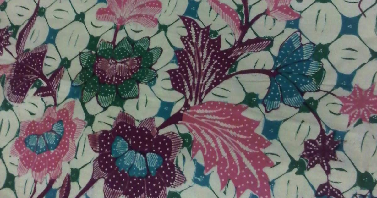 Gambar Bunga Batik Contoh