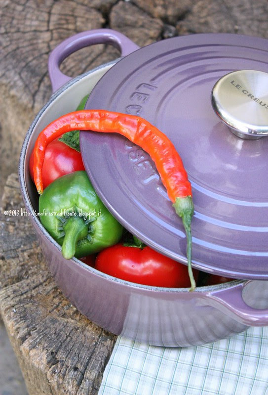 Peperoni in cocotte