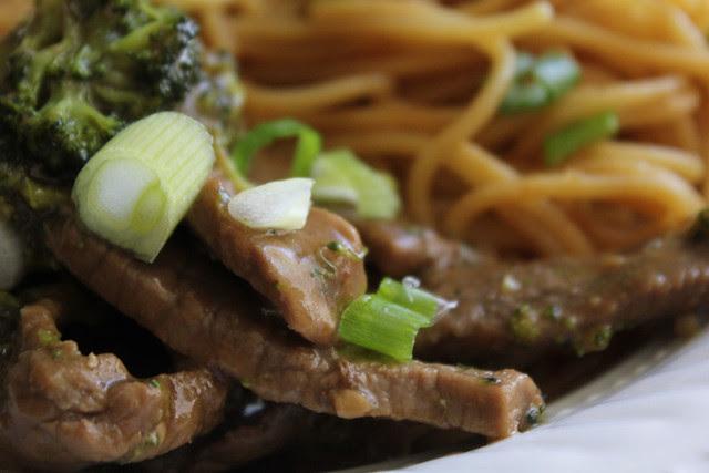 Garlic Beef and Broccoli