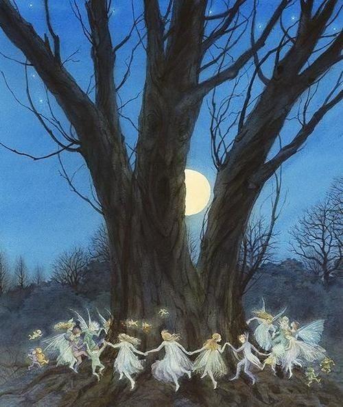 Full Moon Faerie Dance by janice.christensen-dean