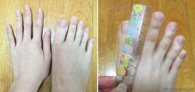 Os pés dessa chinesa estão enlouquecendo a internet