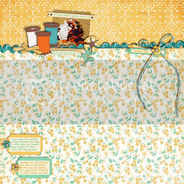 Mom's Visit Day 12: Crochet Flowers