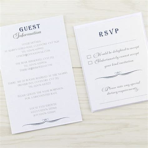 Georgia Evening Invitation   Pure Invitation Wedding Invites